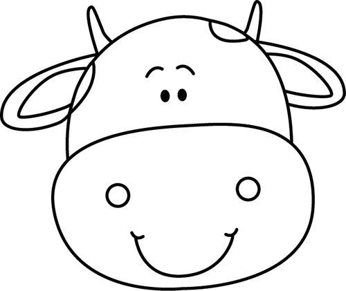 Cow head clipart black and white png free stock Free Black And White Cow Pictures, Download Free Clip Art, Free Clip ... png free stock
