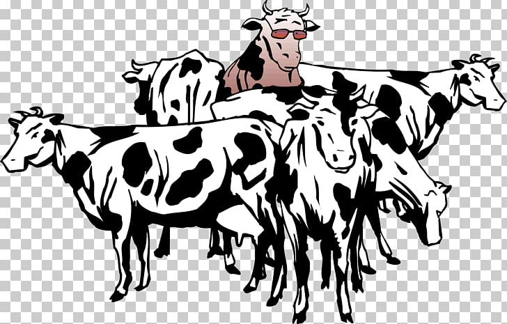 Cow herd clipart clipart black and white library British White Cattle Beef Cattle Sheep Herd PNG, Clipart, Animal ... clipart black and white library