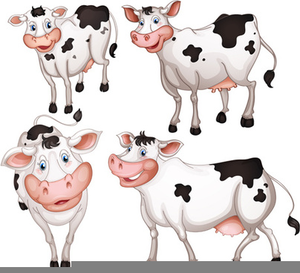 Cow herd clipart picture free library Clipart Herd Of Cattle | Free Images at Clker.com - vector clip art ... picture free library
