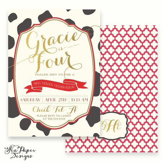 Cow print 1st birthday clipart jpg black and white library Cow Print, Red & Gold Foil Cow Girl, Chick-Fil-A, Country Birthday ... jpg black and white library