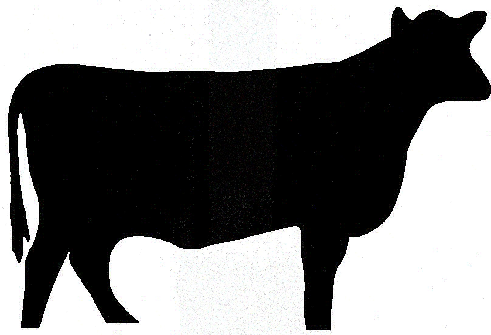 Steer calf clipart 4h graphic free Free Cow Silhouette Cliparts, Download Free Clip Art, Free Clip Art ... graphic free