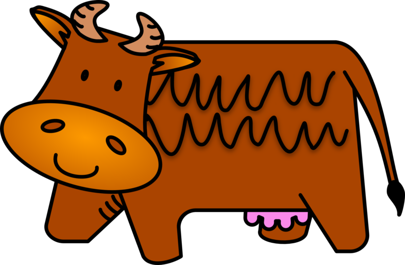 Cow with baseball clipart svg freeuse Free Cow Clipart Black And White Images Download【2018】 svg freeuse