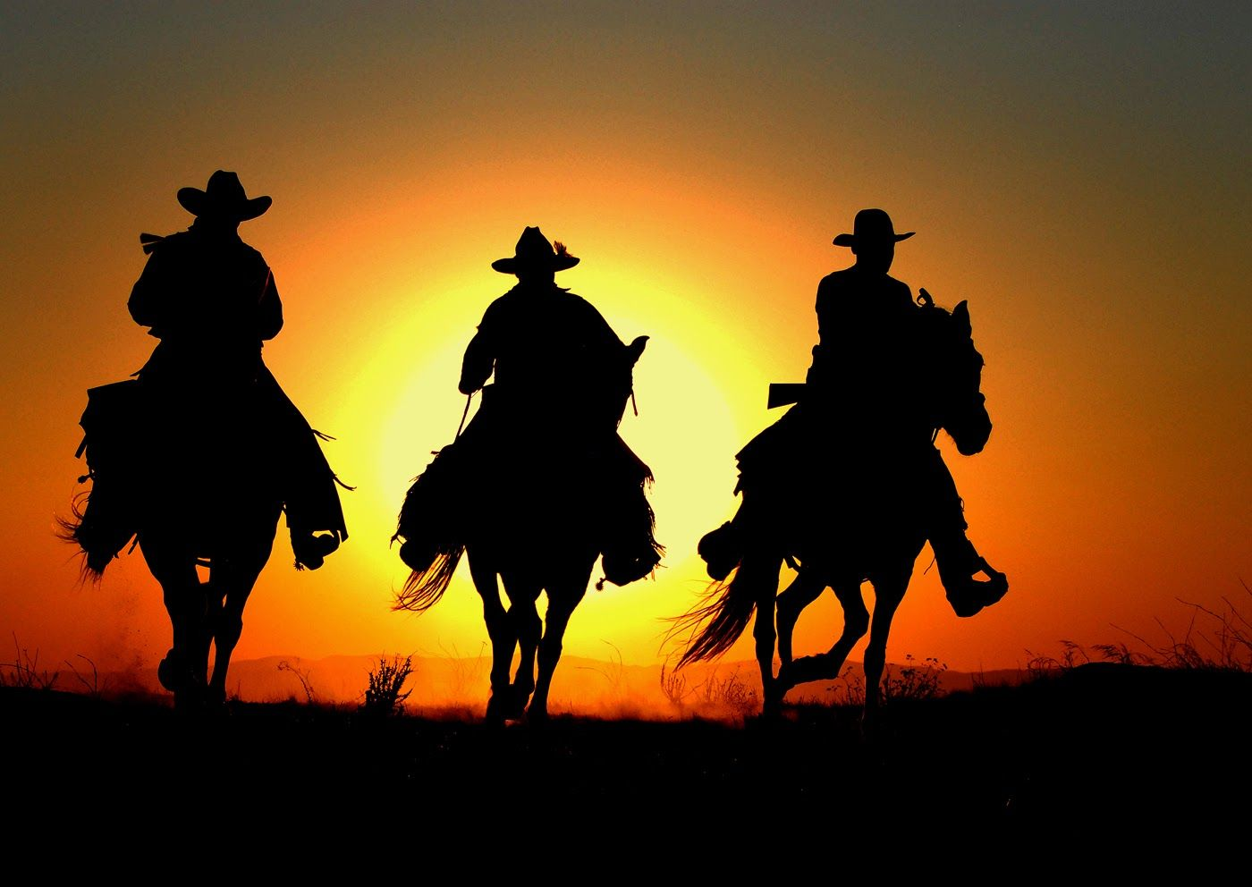 Cowboy and his horse looking out over the sunset clipart jpg library cowboy sunset - Google Search | skies | Cowboy pictures, Cowboy art ... jpg library
