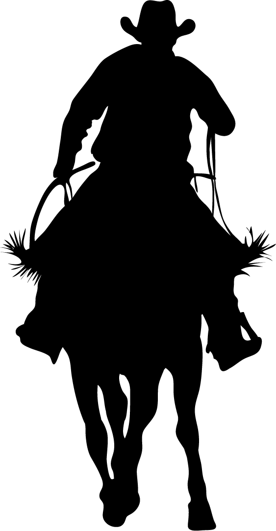 Cowboy kneeling with a cross clipart banner freeuse stock Cowboy Cross Silhouette at GetDrawings.com | Free for personal use ... banner freeuse stock