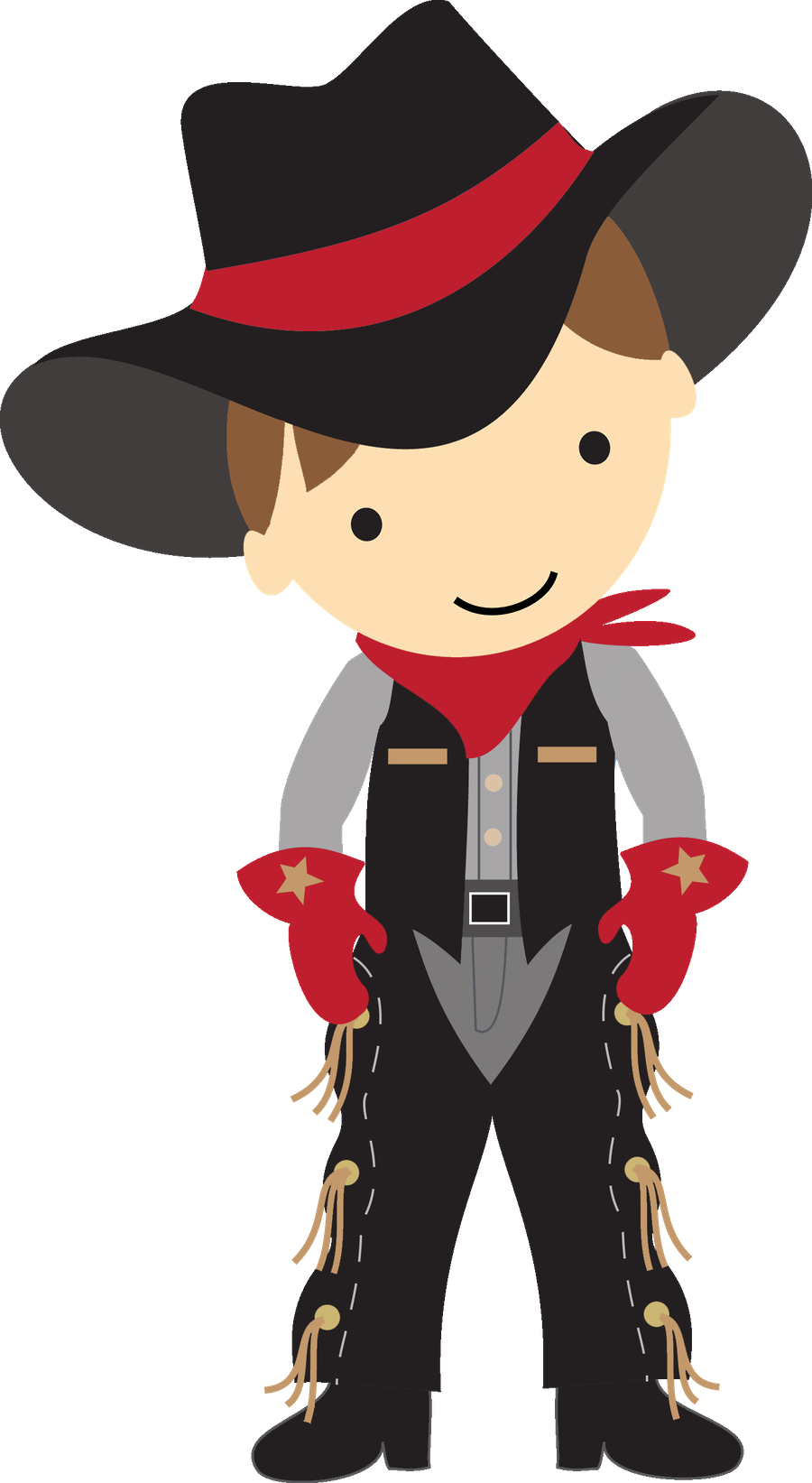 Crown bearers clipart red and black border vector transparent download COWBOY CLIP ART | Clip Art | Pinterest | Cowboys, Clip art and Scrap vector transparent download