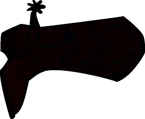 Boot Silhouette Clip Art at Clker.com - vector clip art online ... clipart library stock