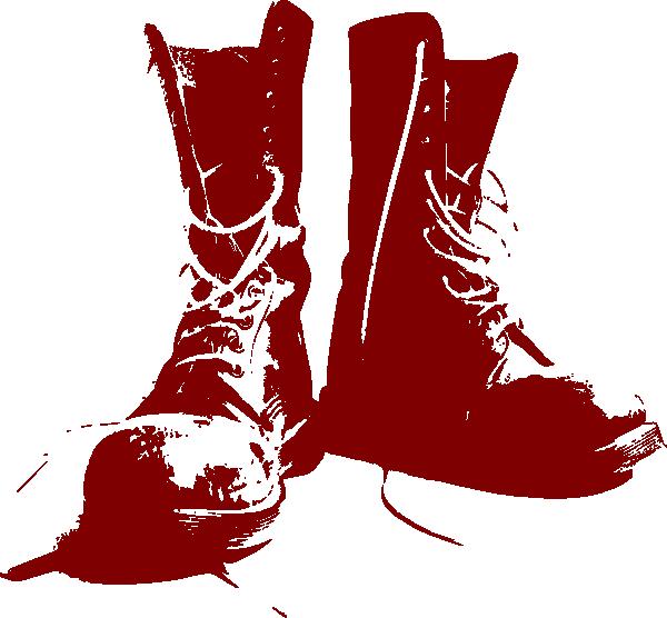 Cowboy boot with star clipart svg transparent stock Boots Clip Art at Clker.com - vector clip art online, royalty free ... svg transparent stock