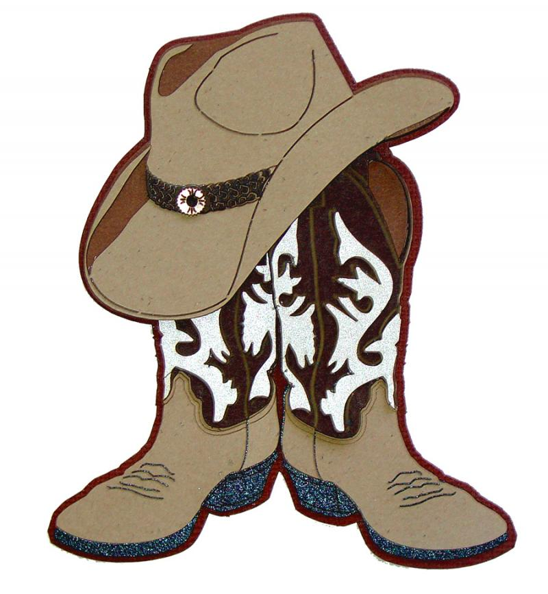 Cowboy boots and hat clipart svg royalty free library Cowboy boots and hat clipart » Clipart Station svg royalty free library