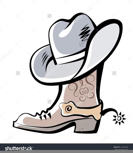 Cowboy boots and hat clipart vector download Boots And Cowboy Hat Clipart | Free Images at Clker.com - vector ... vector download