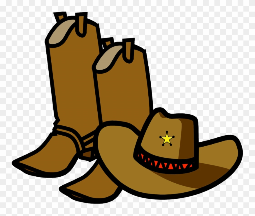 Cowboy boots and hat clipart vector free download Cowboy Boots And Hat Cartoon Clipart (#3401427) - PinClipart vector free download