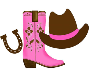 Cowboy boots clipart free png download Pink Cowboy Boot Clipart | Free Images at Clker.com - vector clip ... png download