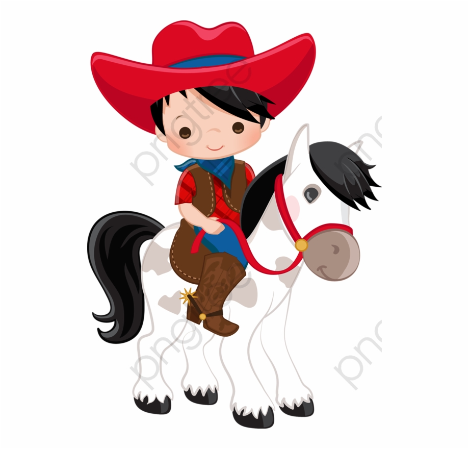 Cowboy clipart png banner royalty free A Red Hat - Kid Cowboy Clipart Free PNG Images & Clipart Download ... banner royalty free