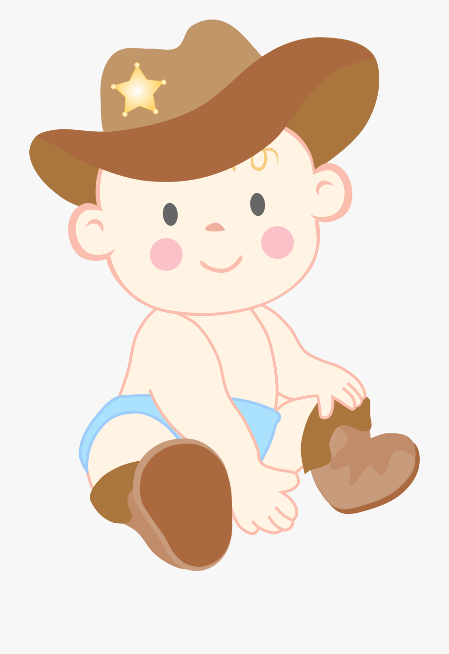 Cowboy clipart png clip art black and white download Baby Cowboy Boots Clipart - Baby Cowboy Clipart #73090 - Free ... clip art black and white download