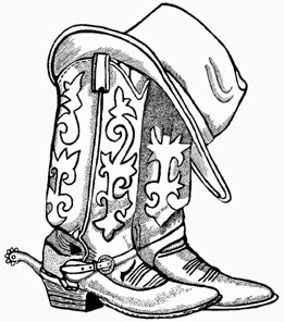 Clipart cowboy boots picture free Cowboy boots and cowboy hat drawing hd shoe clip art fashion - Clipartix picture free