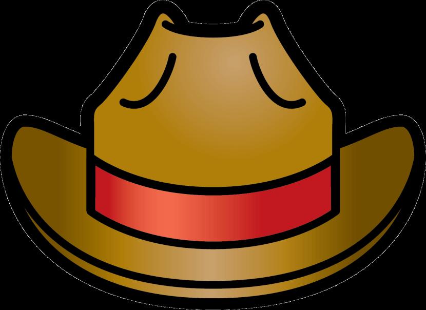 Cowboy hat crown clipart banner transparent stock Cowgirl Hat Clipart (61+) banner transparent stock