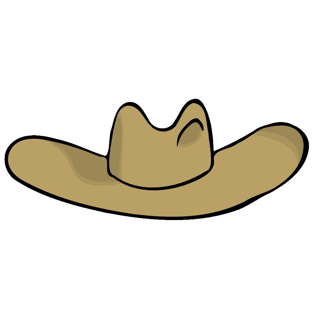 Cowboy hat crown clipart