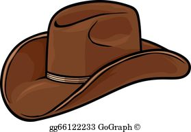 Cowboy Hat Clip Art - Royalty Free - GoGraph picture free stock