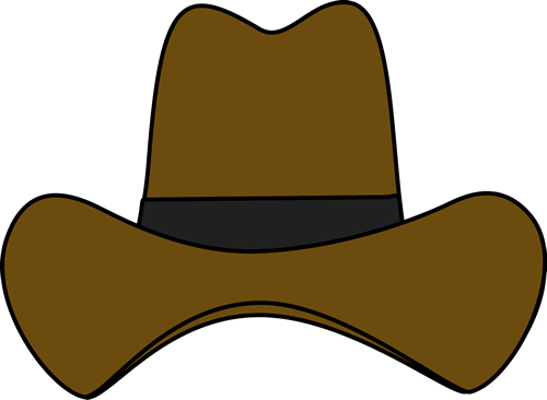 Cowboy hat on a cross clipart clipart freeuse library Simple Cowboy Hat Clip Art | Clipart Panda - Free Clipart Images ... clipart freeuse library