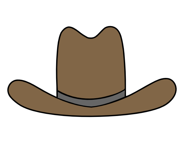 Cowboy hats clipart picture freeuse Free Cartoon Cowboy Hats, Download Free Clip Art, Free Clip Art on ... picture freeuse