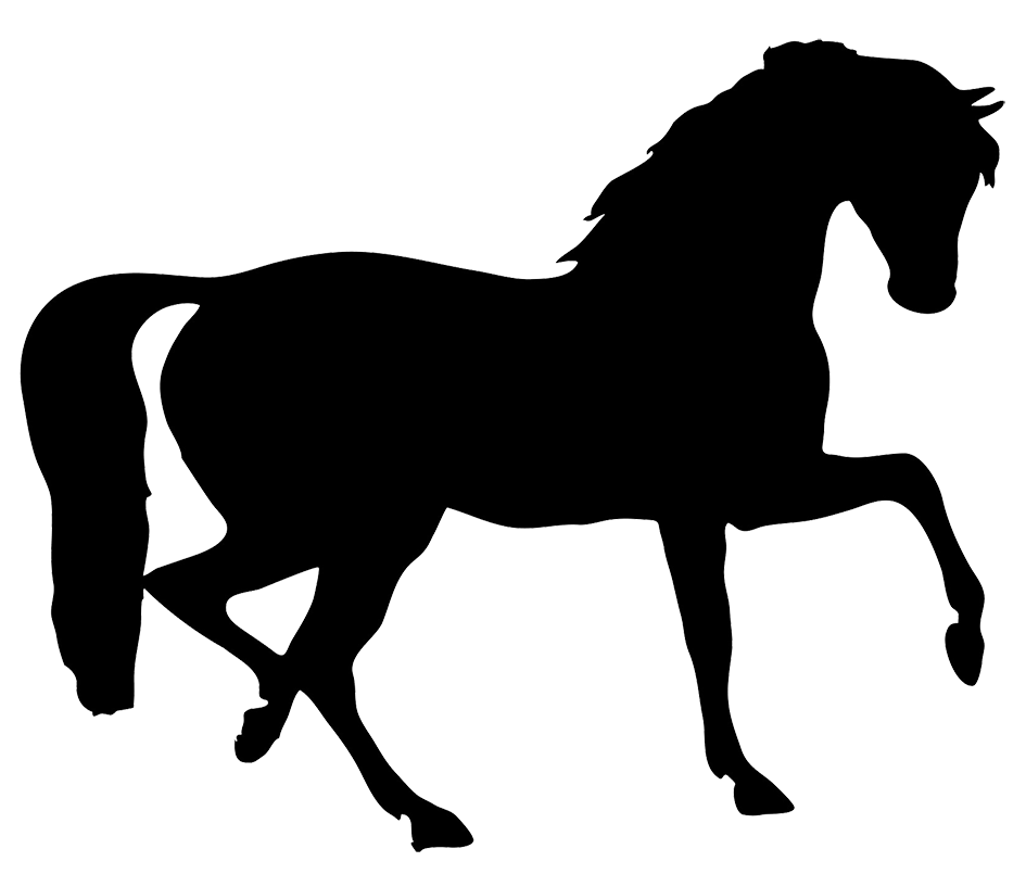 Cowboy kneeling at cross clipart clip free library Horse Silhouette | Crafts, Horse Shape's | Pinterest | Silhouettes ... clip free library