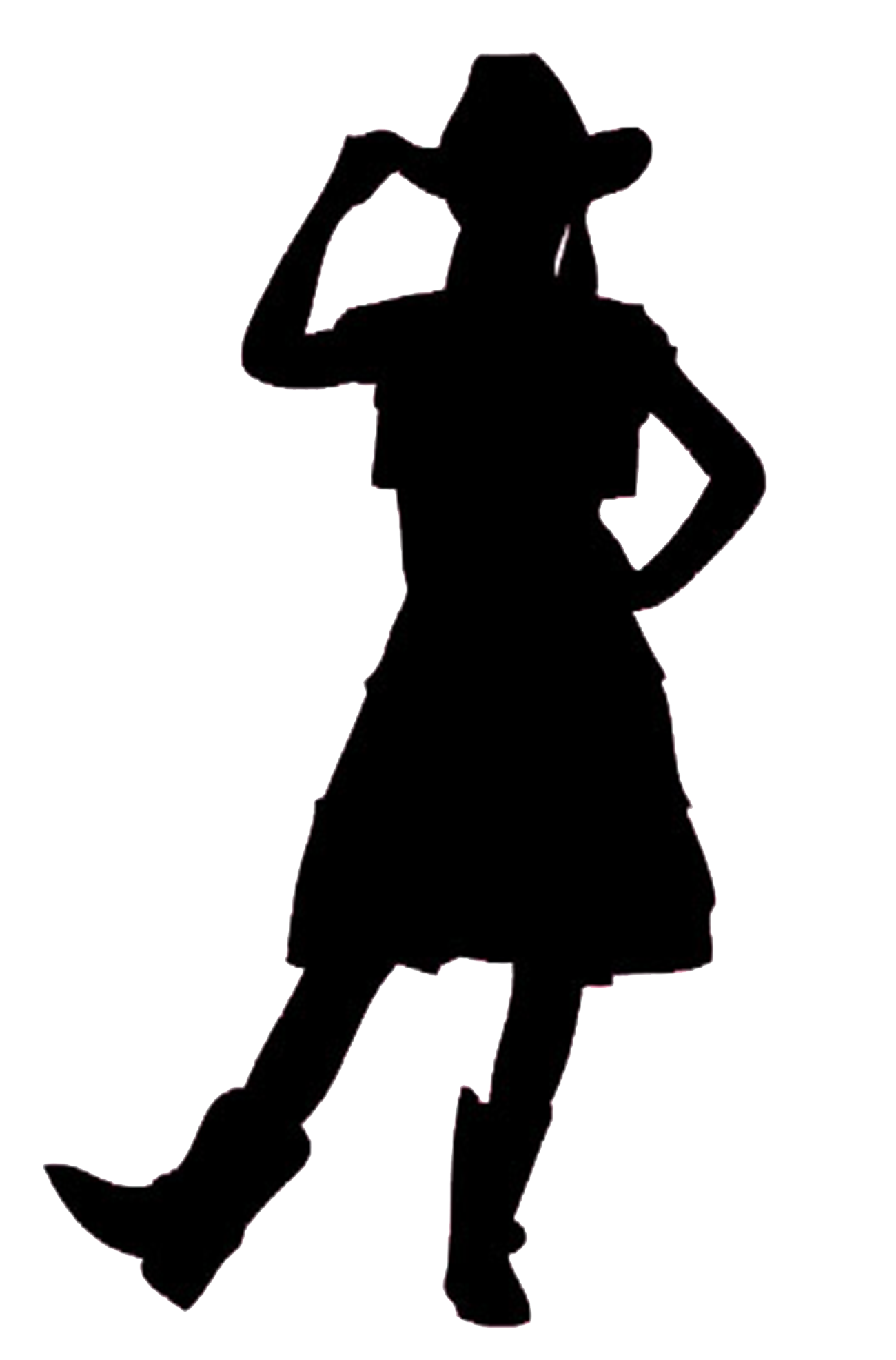 Cowboy kneeling at the cross clipart clipart library Praying Cowgirl Silhouette at GetDrawings.com   Free for personal ... clipart library