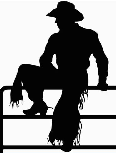 Cutter favorite collection of. Cowboy silhouette patterns free clipart