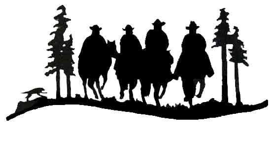 Cowboy silhouette patterns free clipart free Cowboy clipart silhouette - ClipartFest free