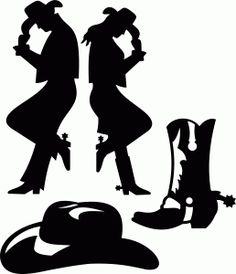 Cowboy silhouette patterns free clipart. Clip art jesus is