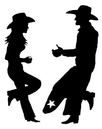 Cowboy silhouette patterns free clipart. Download clip art on