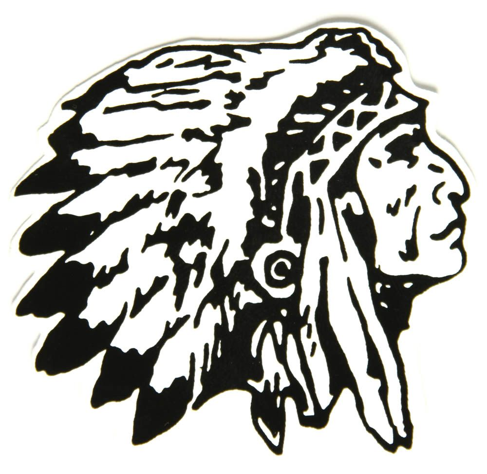 Native american woman headdress clipart black and white vector library Pin by stephanie storrer on coloring | Indian chief tattoo, Indian ... vector library