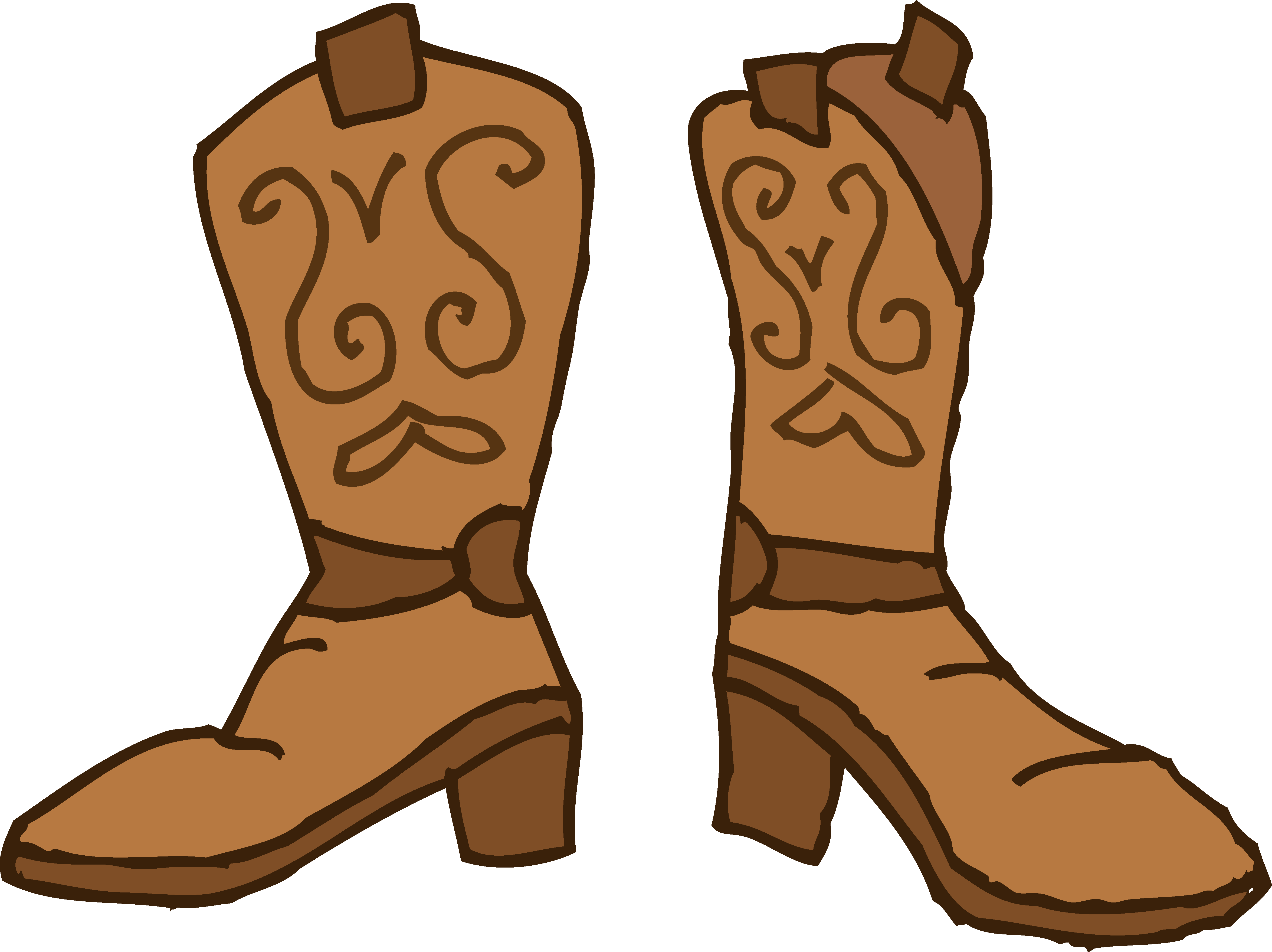 Cowboys boots clipart with crown vector free stock 28+ Collection of Cartoon Cowboy Boots Clipart | High quality, free ... vector free stock