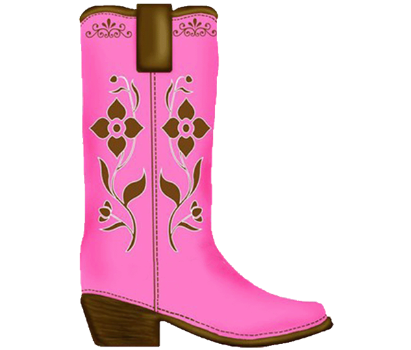 Cowboys boots clipart with crown clip royalty free download Age 6 with CLIPART Birthday Invitation ALL COLORS clip royalty free download