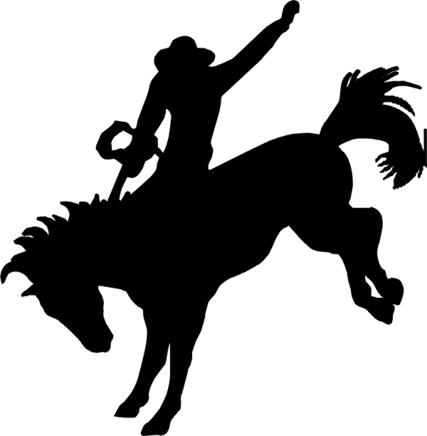 Cowboys in a row silhouette patterns free clipart free library Free Cowboy On Horse Silhouette, Download Free Clip Art, Free Clip ... free library