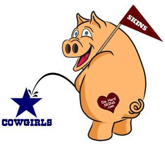 Cowboys vs redskins clipart svg library library Redskins Hog Peeing on Dallas Cowboys logo | Redskins | Pinterest ... svg library library