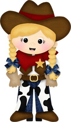 Western girl family clipart image black and white library 49 Best Cowgirl Clipart images in 2019   Cowgirl party, Farmhouse ... image black and white library