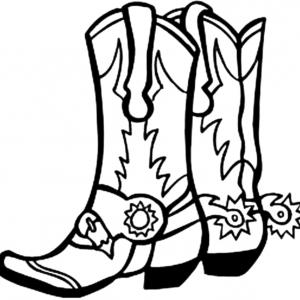 Cowgirl boots clipart black and white svg free Free Cowboy Boot Clipart Black And White, Download Free Clip Art ... svg free
