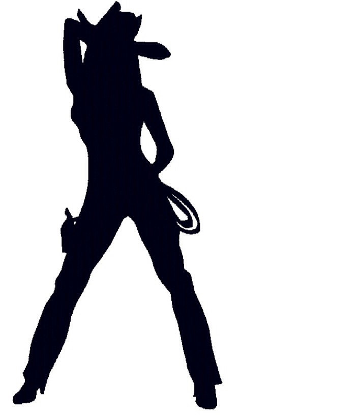 Cowgirl silhouette clipart free jpg royalty free stock Free Cowgirl Silhouette Clip Art, Download Free Clip Art, Free Clip ... jpg royalty free stock