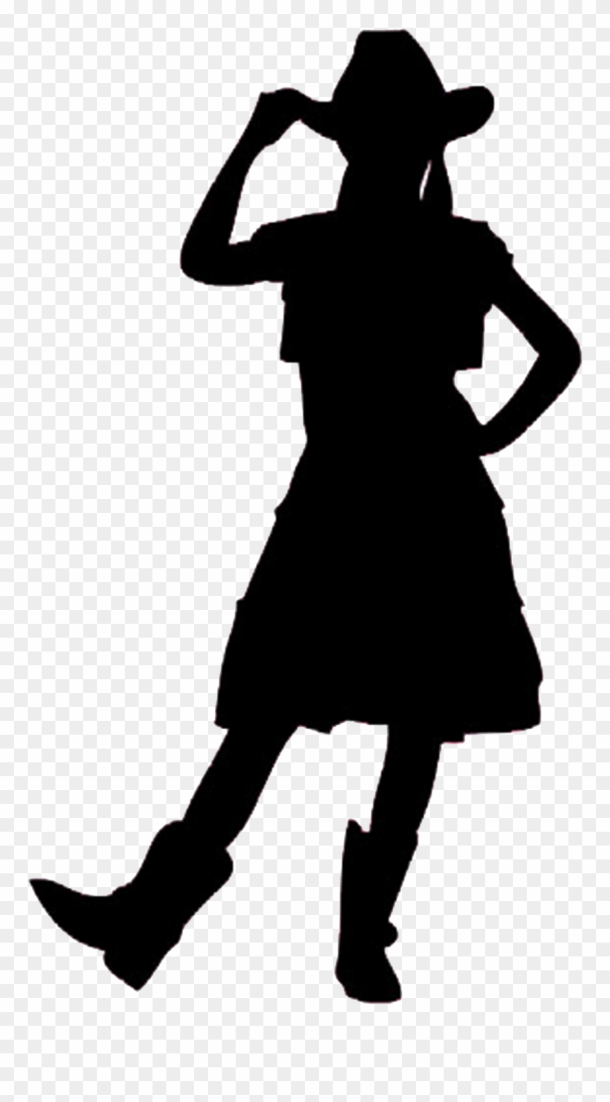 Cowgirl silhouette clipart free picture free Cowgirl Silhouette Clip Art Free - Pink Cowgirl Silhouette - Png ... picture free