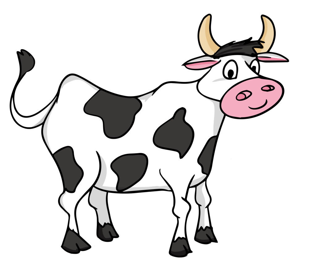 Thanksgiving cow clipart png black and white 28+ Collection of Image Of Cow Clipart | High quality, free cliparts ... png black and white