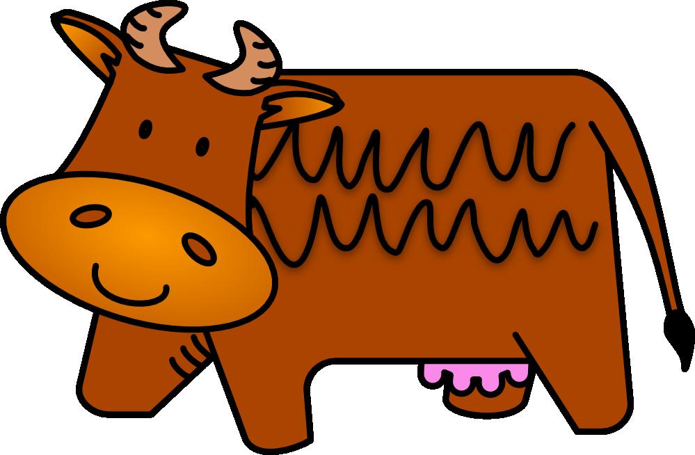 Cows eating apple clipart vector transparent clipartist.net » Clip Art » Cow 520 x 260 Vfx Solidarity Visual ... vector transparent