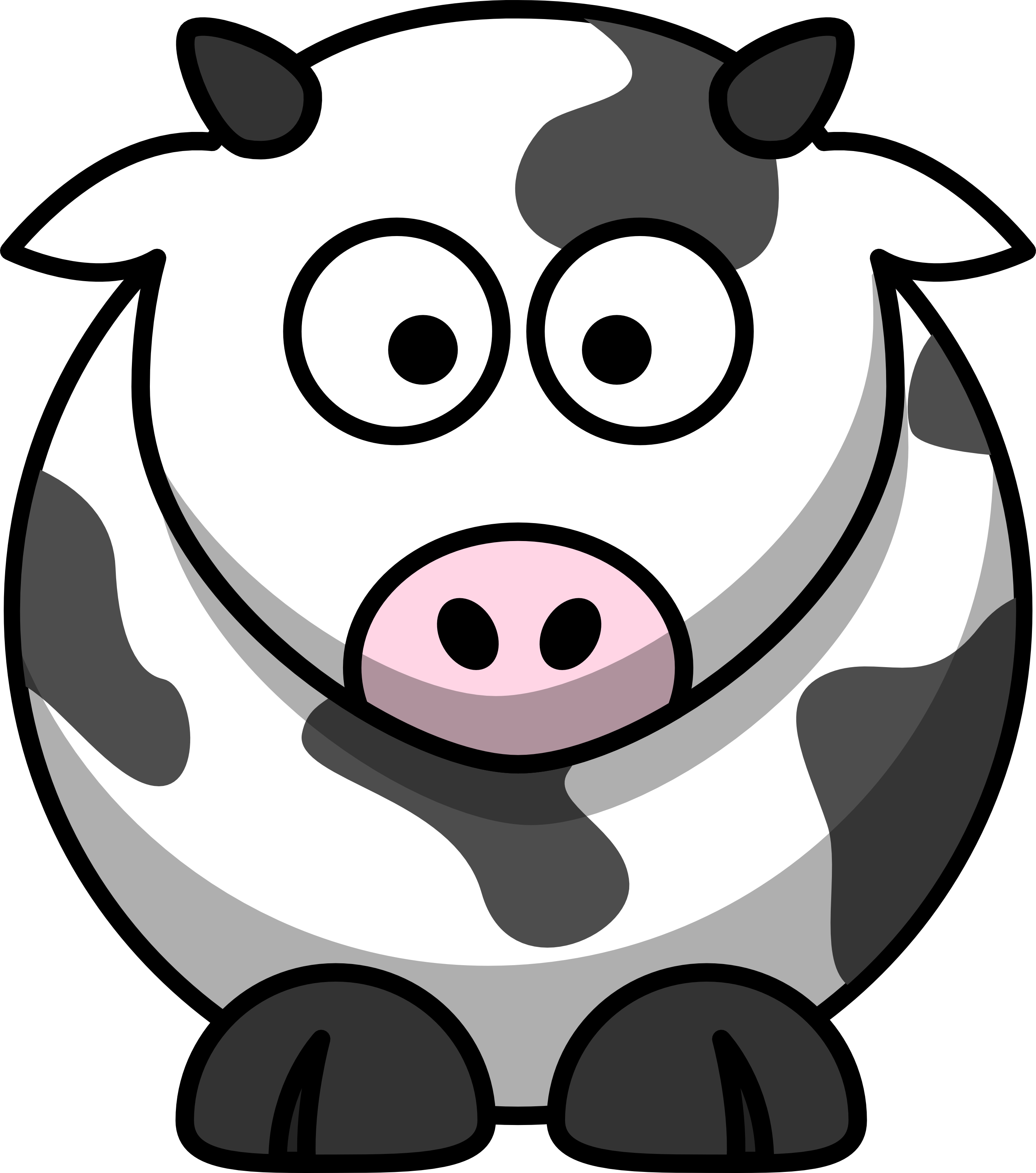 Thanksgiving cow clipart banner royalty free download Google Image Result for http://free.clipartof.com/49-Free-Cartoon ... banner royalty free download