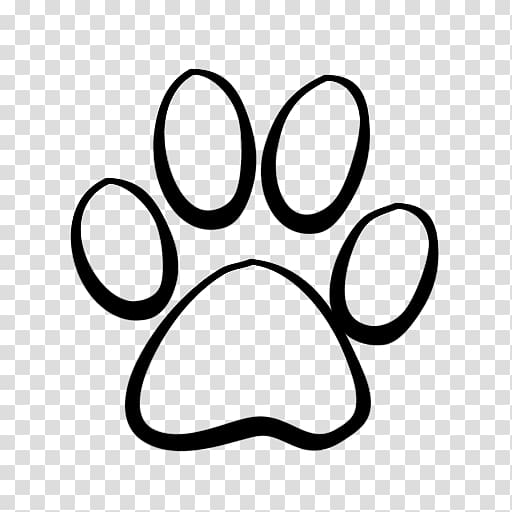 Coyote paw print clipart png freeuse stock Black paw print illustration, Dog Cat Tiger Coyote , Lion Paw Print ... png freeuse stock
