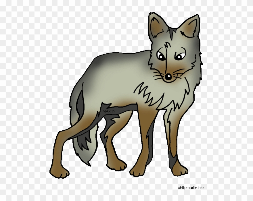 Coyotte clipart picture library Cute Cartoon Coyotes Clipart (#1229194) - PinClipart picture library