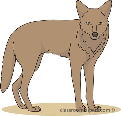 Coyotte clipart freeuse stock From: Coyote Clipart | Clipart Panda - Free Clipart Images freeuse stock
