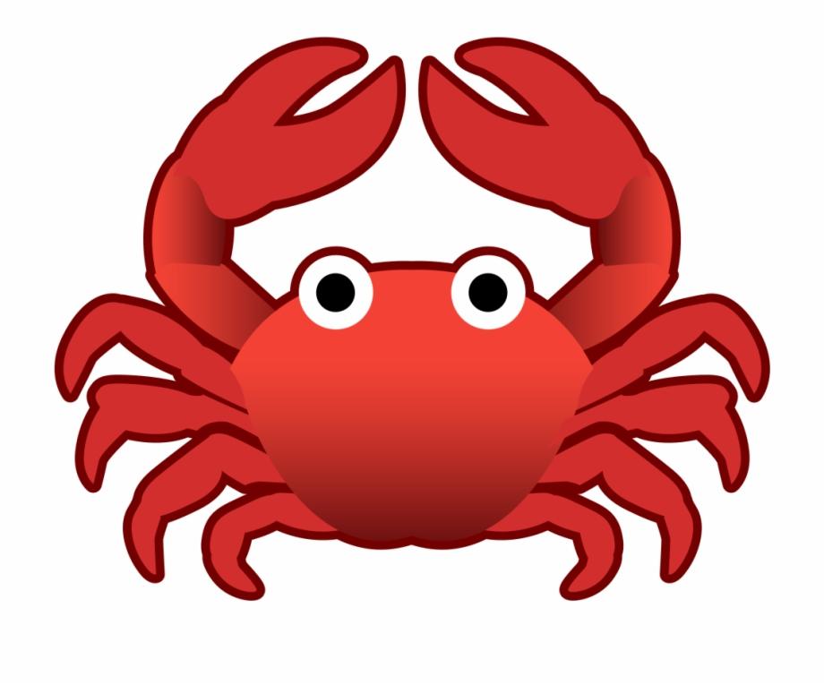 Crab emoji clipart svg freeuse download Crab Icon - Crab Emoji Free PNG Images & Clipart Download #5108493 ... svg freeuse download