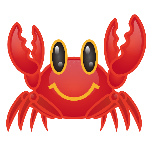 Crab emoji clipart clip art royalty free Crab Emoji for Facebook, Email & SMS | ID#: 12431 | Emoji.co.uk clip art royalty free