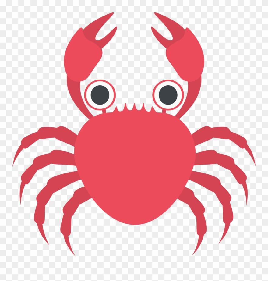 Crab emoji clipart image freeuse Cartoon Crab 15, Buy Clip Art - Crab Emoji - Png Download (#1335943 ... image freeuse