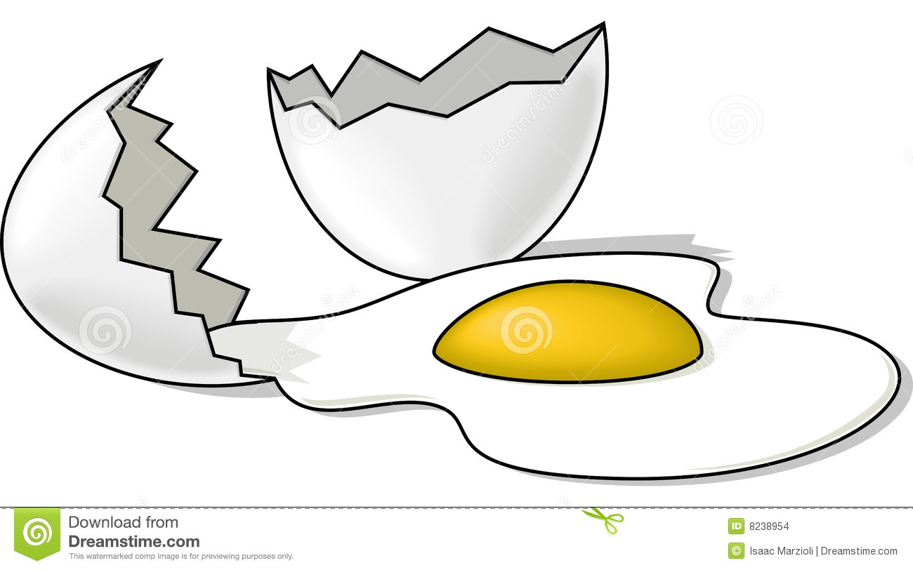 Crack egg clipart image library library Cracked eggs clipart - ClipartFest image library library