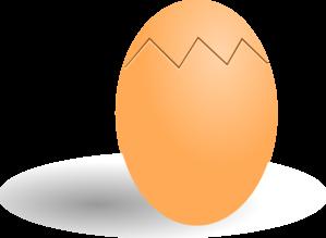 Crack egg clipart svg free library Clipart Egg & Egg Clip Art Images - ClipartALL.com svg free library