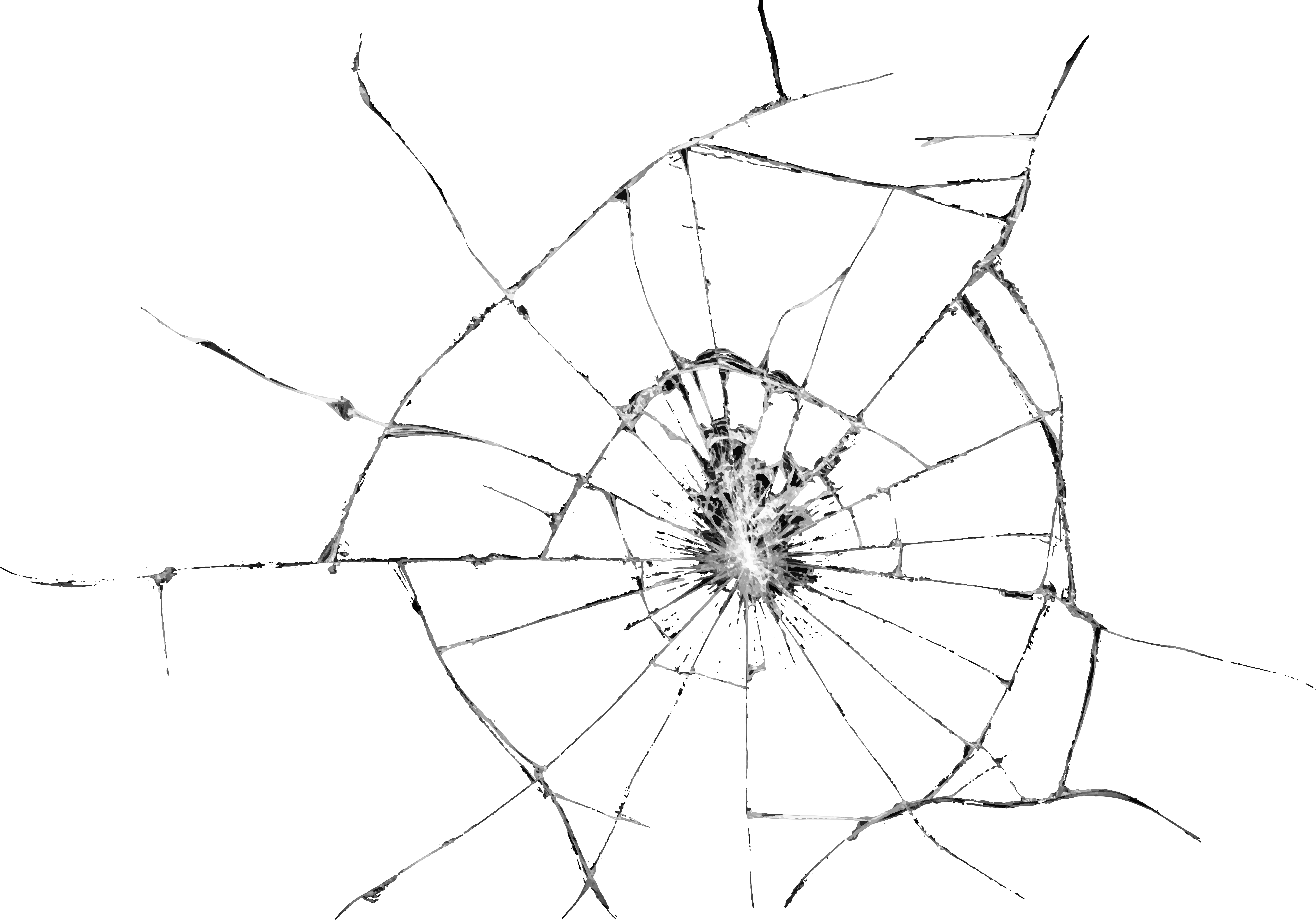 Cracked screen clipart png royalty free Broken Glass Effect Transparent PNG Clip Art Image | Gallery ... png royalty free